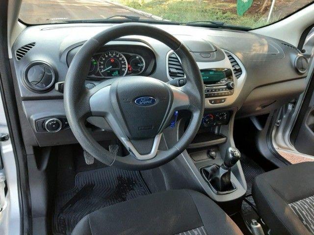 Ka SE 1.0 Hatch 2020 prata - Foto 14