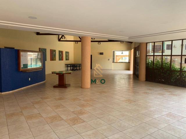 Apartamento com 1 dormitório para alugar, 52 m² por R$ 1.300/mês - Porto das Dunas - Aquir - Foto 5