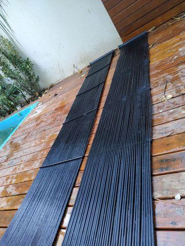 Placa para aquecer piscina, unisol melhor marca do mercado ! - Foto 3