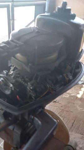 motor de popa 5 hp - Foto 2