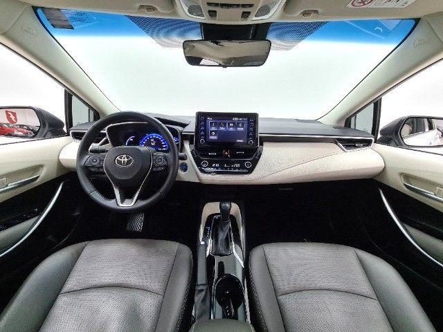 corolla altis premium hybrid 1.8 flex 2021 aceito troca - Foto 19