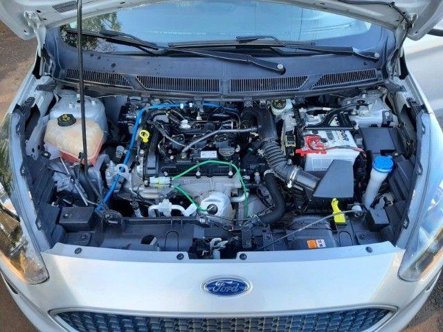 Ka SE 1.0 Hatch 2020 prata - Foto 20