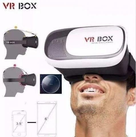Óculos 3d Realidade Virtual Para Celular, Vídeos, Filmes e Jogos - Foto 3