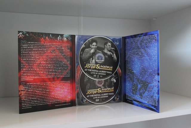 Dvd + Cd Original Jorge & Mateus : At the Royal Albert Hall - Live in London. - Foto 2