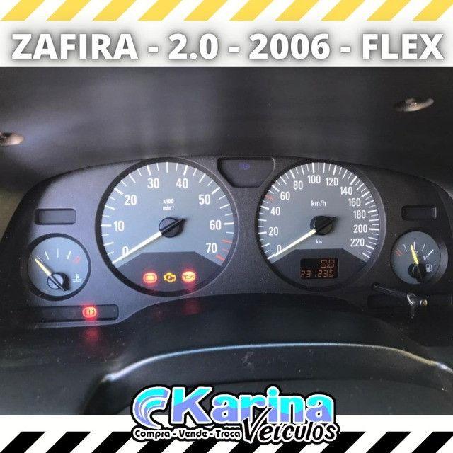 Zafira Comfort - 2.0 - 2006 - Flex - Carro impecável!!! - Foto 4