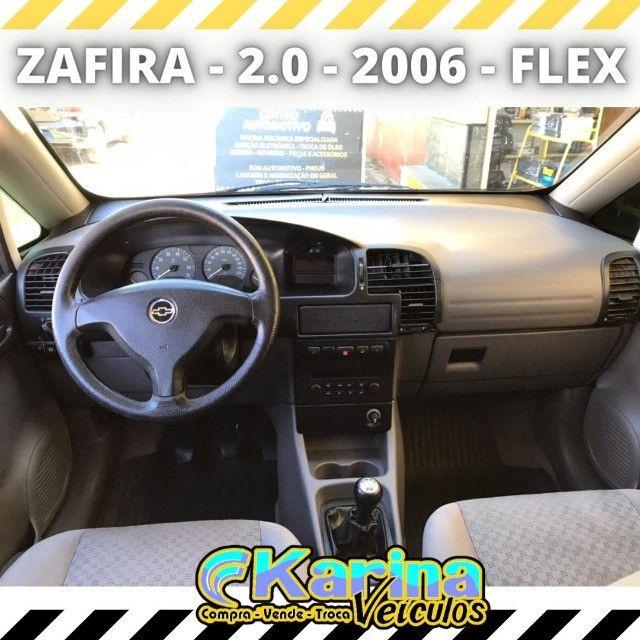 Zafira Comfort - 2.0 - 2006 - Flex - Carro impecável!!! - Foto 3