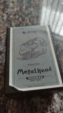 Pedal De Guitarra Joyo Metal Head Distortion - Raridade!!!  - Foto 2