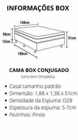 Cama box conjugada  - Foto 6