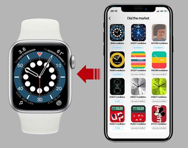 Smartwatch inteligente / faz chamadas/ coloca fotos / original/lançamento / - Foto 4