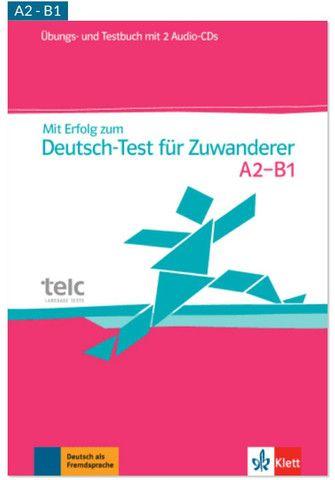 Livro para teste de alemão nível A2 _ B1