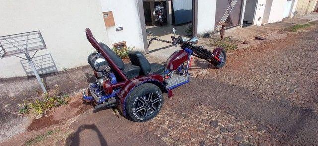 Triciclo motor de Fusca 1.500 ano 2014 impecável. - Foto 2