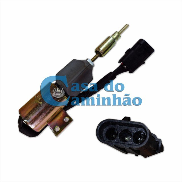 Válvula Solenoide Corte Comb 12v - Vw 17220 / 24220 / 24250 - Foto 5