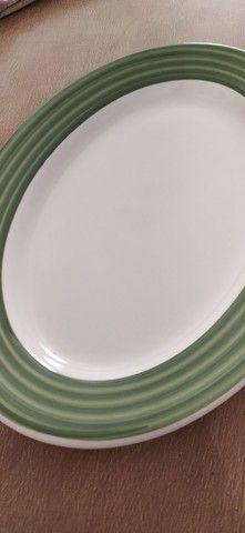 Linda Travessa Cerâmica Tuxton 35 cm - Foto 2