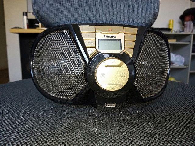 Rádio Portátil com CD e USB - Philips