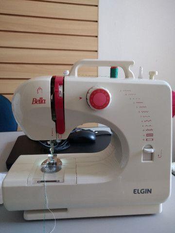 Vendo máquina de costura Elgin semi nova