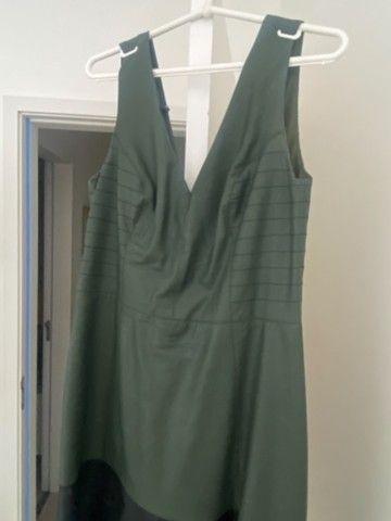 Vestido de couro  - Foto 3