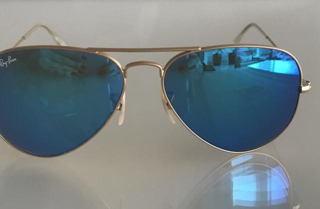 680d76525c69d Óculos Ray Ban Aviador Metal - Original - Bijouterias, relógios e ...