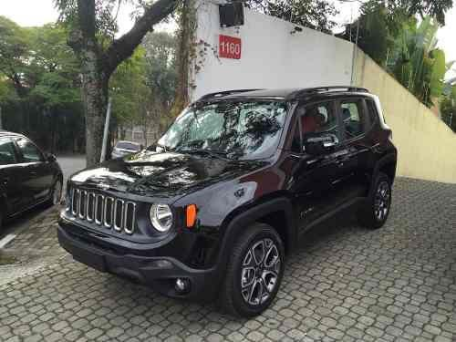 jeep renegade longetude 2 0 diesel 0km 2017 carros vila santos ca apava olx. Black Bedroom Furniture Sets. Home Design Ideas