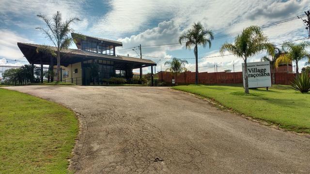 Excelente terreno 800 m2 em condomínio fechado - Village Araçoiaba