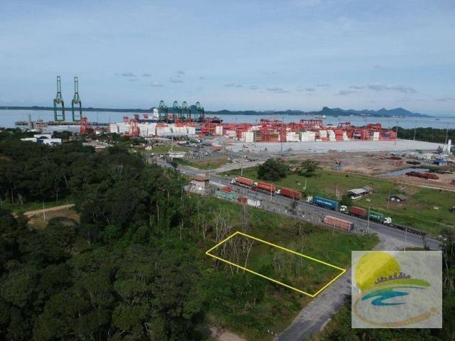 Terreno ao lado do Porto em Itapoá SC