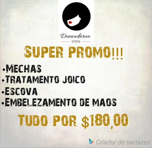 Super promoção