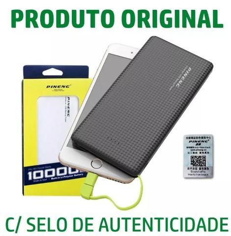 (NOVO) Bateria Portátil Externa 10000 mah Pineng Power Bank iPhone