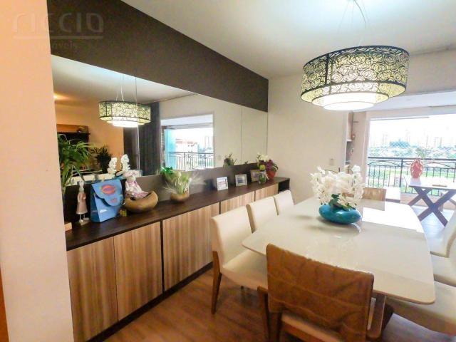 Maravilhoso apartamento no vila ema em sjc 4 dormitórios (3 suítes) 176 m² mega decorado 3 - Foto 5