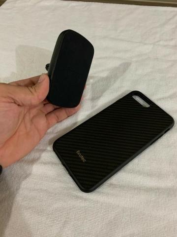 Capa Case Evutec Carbono Para iPhone 8 E 7 Plus C/ Acessório - Foto 2