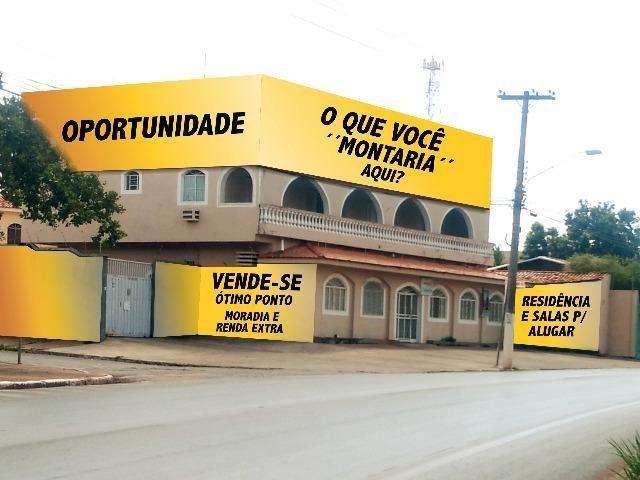 Ponto Comercial em Cuiabá Casa com Salas Comerciais - Sobrado - Foto 2