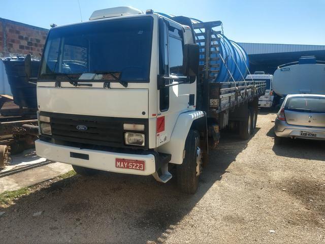Cargo 1622 truck ano 2000 carroceria aberta