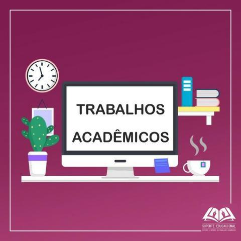 Trabalhos Acadêmicos e Escolares - Foto 2
