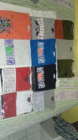 90d775f0473dc Camisetas Tommy Hilfiger original e Lacoste - Roupas e calçados ...