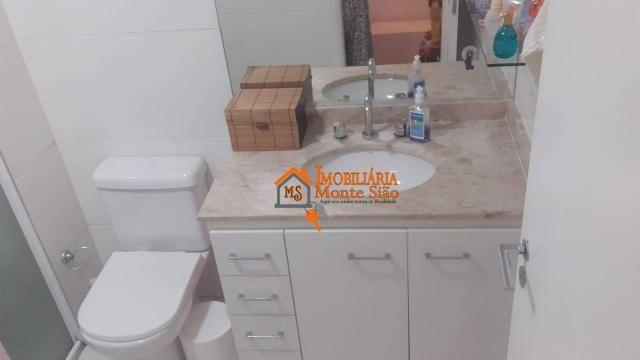 Apartamento com 3 dormitórios à venda, 93 m² por R$ 636.000,00 - Vila Augusta - Guarulhos/ - Foto 9