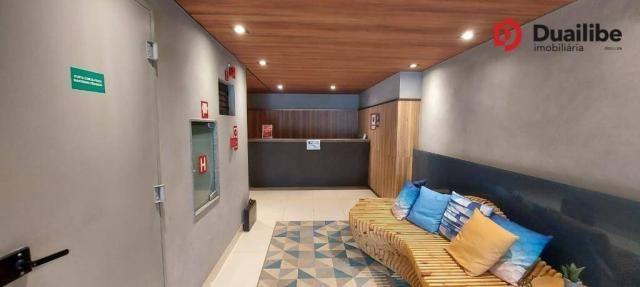 Apartamento no Studio Design Holandeses com 46,00m²- Calhau - São Luís/MA por R$ 2.200,00 - Foto 3