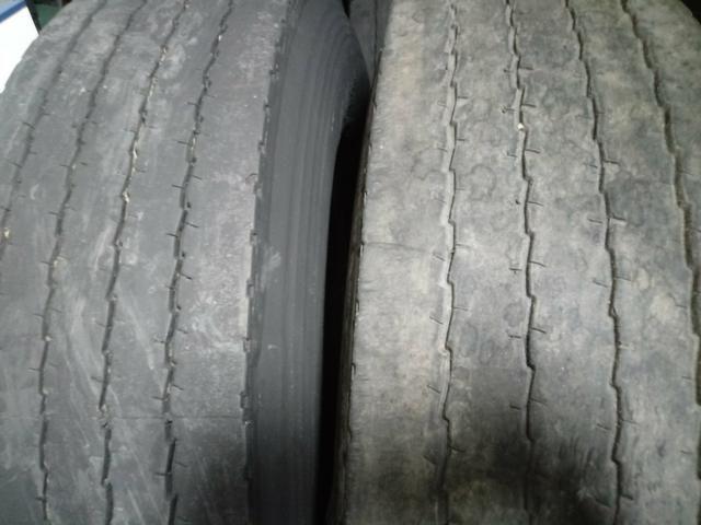 Pneus usados seminovos meia vida para caminhão com excelente qualidade - Foto 2
