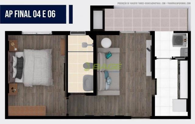 Apartamento com 1 dormitório à venda, 32 m² por R$ 199.000,00 - Centro - Pelotas/RS - Foto 7