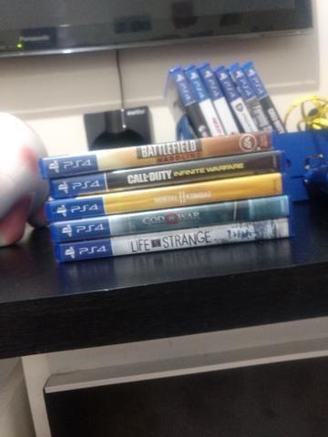 Vendo ou troco jogos PS4