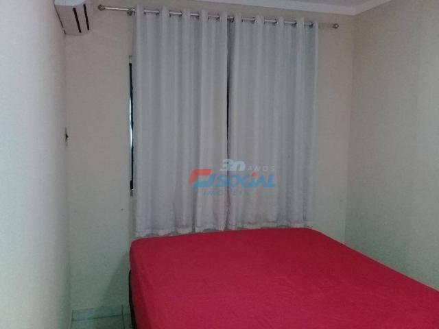 Excelente apartamento mobiliado para locação, cond. porto velho service, apt 207, porto ve - Foto 15