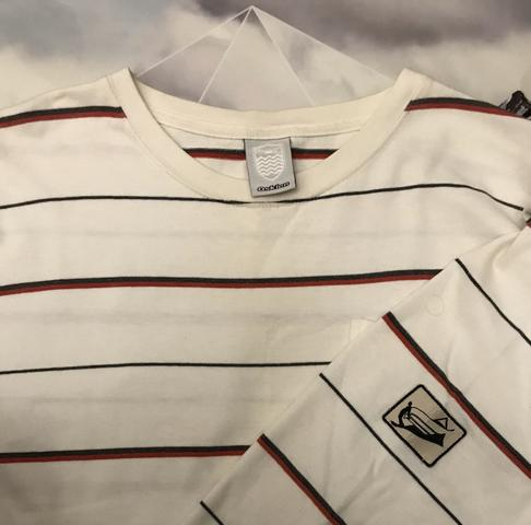 Camiseta manga longa osklen listrada - Foto 3
