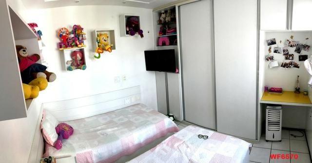 Edifício Cidrão Place, apartamento na Aldeota, 3 suítes, gabinete, 2 vagas, projetado - Foto 8