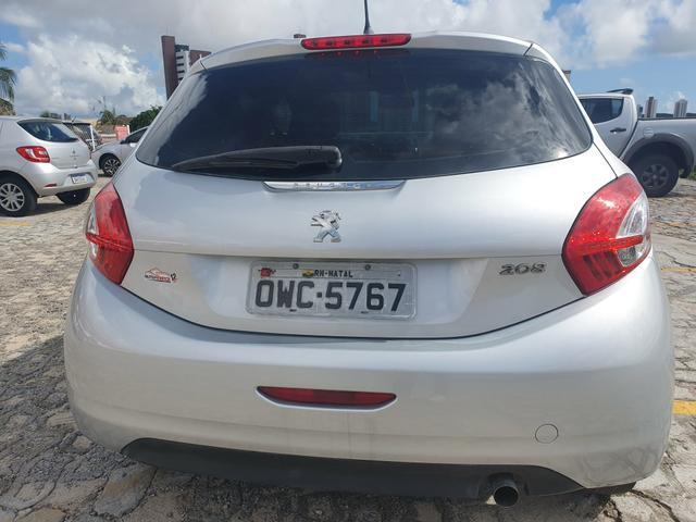 Peugeot 208 1.5 2015 active pack extra aceito troca - Foto 5