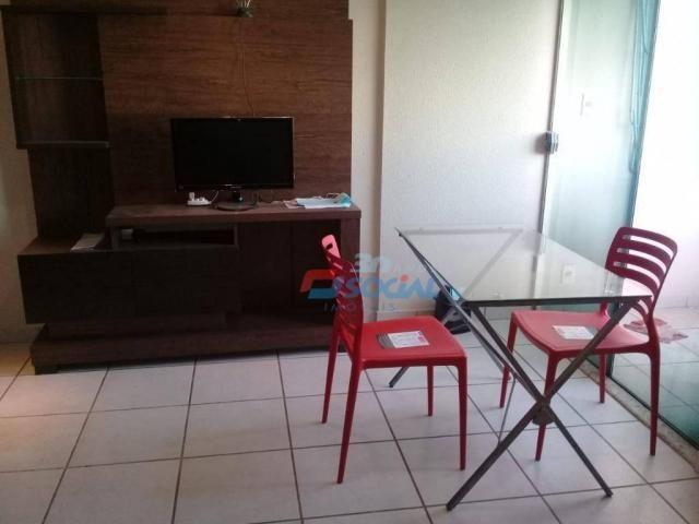 Excelente apartamento mobiliado para locação, cond. porto velho service, apt 207, porto ve - Foto 6
