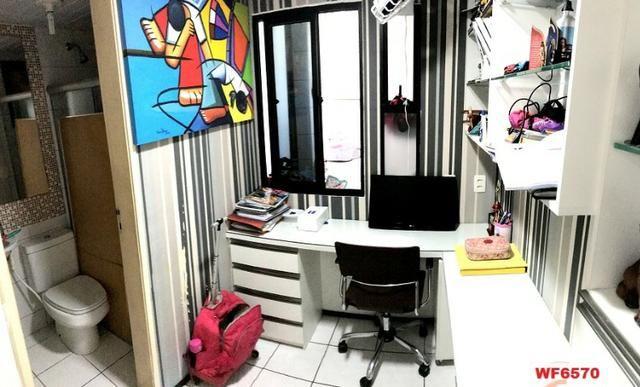 Edifício Cidrão Place, apartamento na Aldeota, 3 suítes, gabinete, 2 vagas, projetado - Foto 7