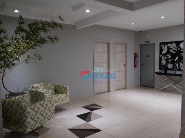 Apartamento mobiliado para locação, cond. porto velho residence service - aptº 1103 - noss - Foto 3
