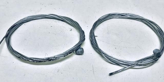 Par de cabos de freios (NOVOS) - Foto 3