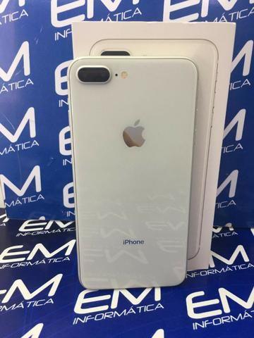 Apple IPhone 8 Plus 64Gb Prata - Seminovo - com nota e garantia, somos loja fisica - Foto 2