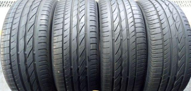 ?Pneus semi novos 205/55-16 Bridgestone - Foto 13