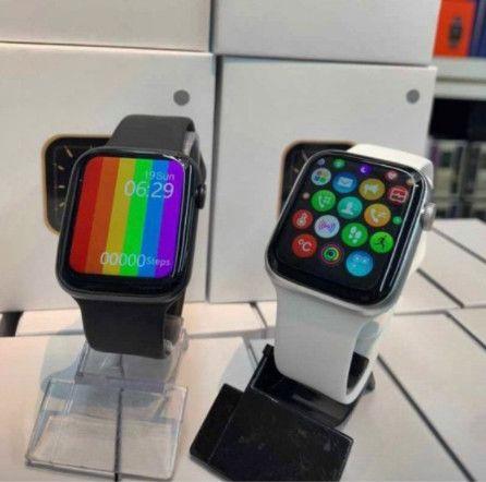 Relogio Smartwatch Inteligente Iwo 12 Lite W26 Tela Infinita