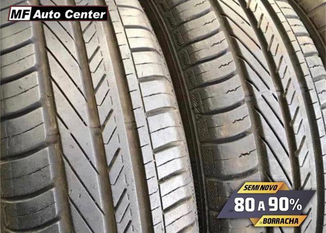 ?Pneus semi novos 205/55-16 Bridgestone - Foto 3