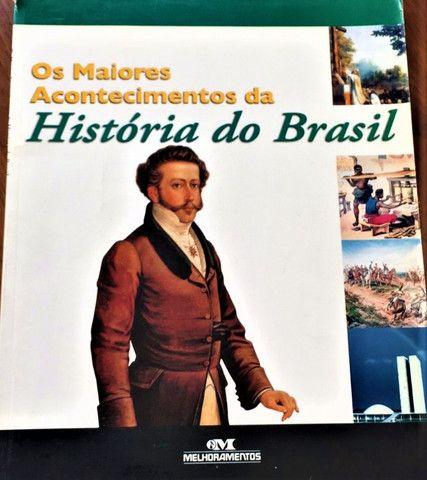 Os Maiores Acontecimentos Da História Do Brasil Editora Melhoramentos 2006